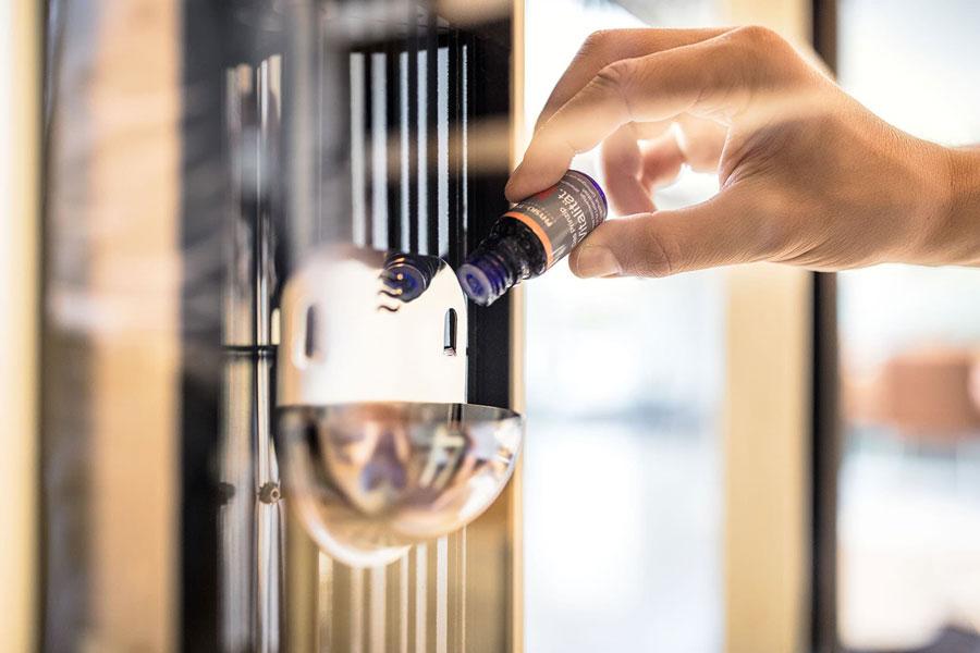 cabines infrarouge - huiles essentielles